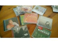 10 CDs of different Christian Artists and compilations