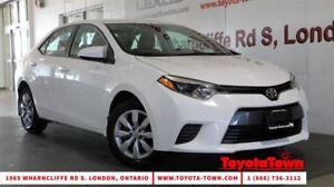 2016 Toyota Corolla LE HEATED SEATS & BACKUP CAMERA