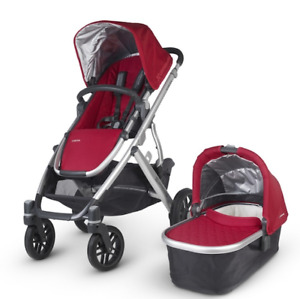 Uppa Baby Stroller, Bassinet and Accessories