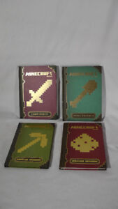 SKITCH'S STUFF: (4) Minecraft Books $2 each or $6 for all 4