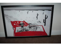 Fear and Loathing in Las Vegas framed picture