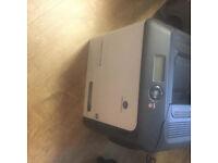 Konica minolta magicolor 4750EN, A4 Full Colour printer with £300 worth of ink still in printer