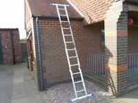 folding ladder /work scaffold