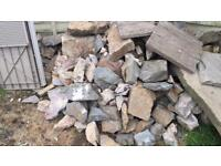 ROCKERY STONES FREE TO COLLECTOR