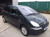 citreon picasso 1.6 diesel great family car, metallic grey, full service history, new mot, new tyres