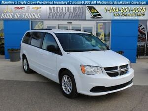 2016 Dodge Grand Caravan SE | Stow'n'Go | Low KM  - $184.55 B/W
