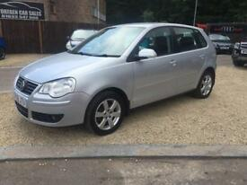 VOLKSWAGEN POLO 1.4 MATCH TDI 5d 68 BHP (silver) 2008
