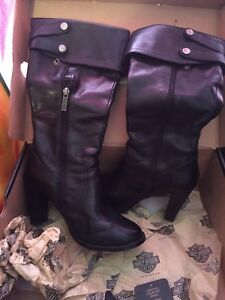 Womens harley boots with heel