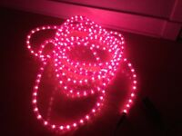 25 ft Dark Pink Rope Light