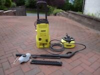 PowerCraft 7944 Pressure Washer with Patio & Wall Cleaner attachment