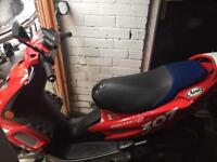 Peugeot speed fight 100 2005 reg 280 no offers bargain