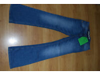 woman jeans size 10-12 Fat Face brand newD