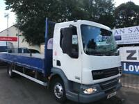 DAF TRUCKS LF 45 7.5 tonne 22ft Dropside