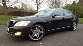 FOR SALE MERCEDES BENZ S CLASS CDI VERY LOW MILES FULL SERVICE HISTORY