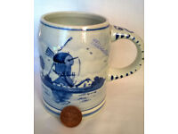 royal delft blue tankard