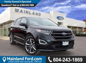 2015 Ford Edge Sport LOCAL, ONE OWNER