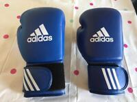 Two left handed boxing gloves