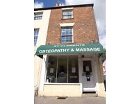 Part-time receptionist at Osteopathy Clinic in Oxford