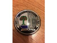 Mercedes AMG hood emblem