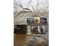 Pro PS3 Scuff Controller + 5 PS3 Games