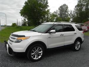 2011 Ford Explorer Limited V6 *Cuir*4x4*Toit*ac*Gps*Camera*Mags