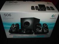 Using Speaker logitech z506