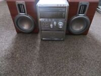 Philips Expanium MCM8 Micro System Hi fi radio CD tape stereo player