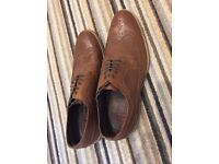 Size 10 NEXT Men's brown leather shoes