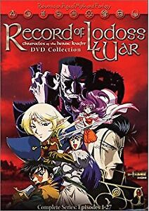 Record of Lodoss War Chronicles of the Heroic Knight DVDs