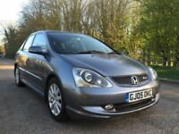 Honda Civic S type 1 year mot 6 months warranty