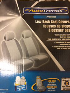 CAR SEAT COVERS (LOW BACK)