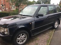 Lovely Range Rover TD6 HSE £5495 would consider a swap for a landrover discovery 05-06 reg
