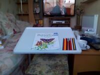 New fully adjustable mini table ideal for crafts, meals, laptop etc