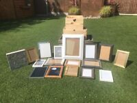 PICTURE FRAMES VARIOUS SIZES AND COLOURS IDEAL FOR WEDDING!