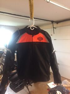 Harley Motorcycle Jacket (L)