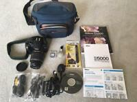 Nikon D5000 SLR Camera and Accessories