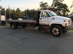 1999 GMC 6500 Truck with 24' Flat bed