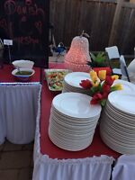 Table ,Chairs,Chaffing Dish, Party Rental