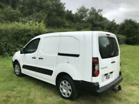 2014 14 Peugeot Partner 1.6HDi ( 92 ) Crew Van LWB L2 - NO VAT TO PAY