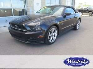 2013 Ford Mustang GT 5L V8, AUTO, LEATHER, NO ACCIDENTS