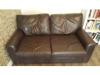 X2 Leather Sofas- Excellent Quality