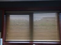 Brand new in packaging wooden blind