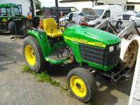 John Deere 4400 Compact Tractor