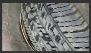 Michelin tires on rims for sale.
