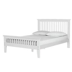 Aubrey Kingsize Bed Frame - White