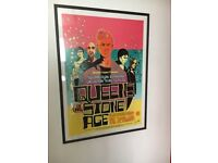 Queens of the stoneage professionally framed picture