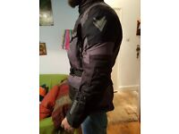 Mens Adventure motorcycle jacket Frank Thomas FTW 701 Jupiter size L 42