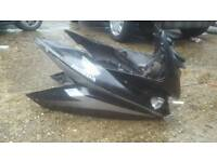 honda cbf125 front and side fairing including front light, infill panels and speedo