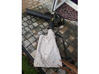 McCulloch BVM 240 petrol garden vacumn leaf blower