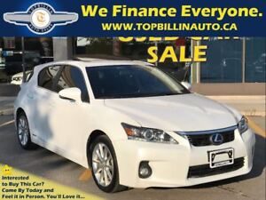 2011 Lexus CT 200h SUNROOF, LEATHER, 148K kms